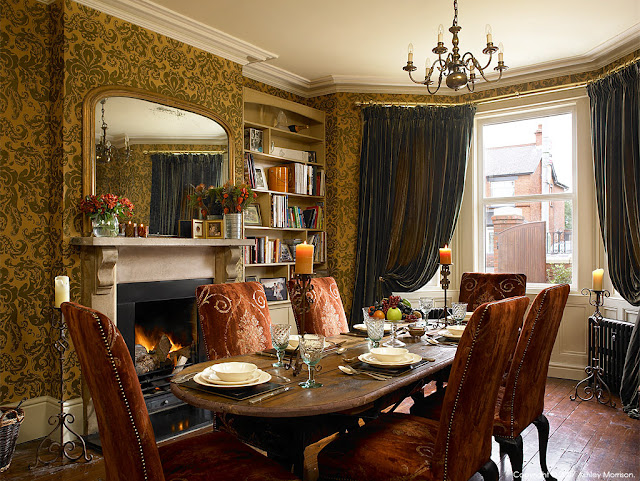 Edwardian-period-dining-room