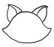 рисуем кошку пошагово