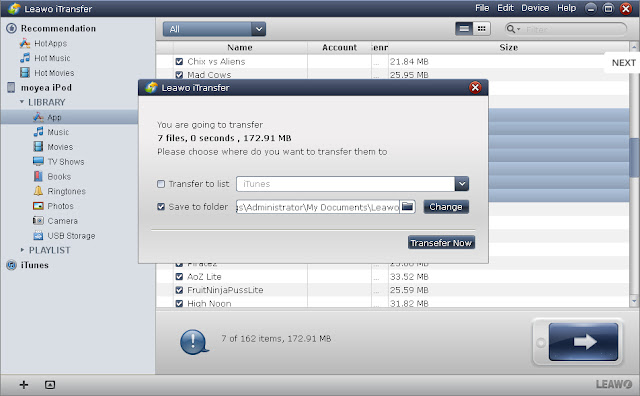transfer music from iPad to pc
