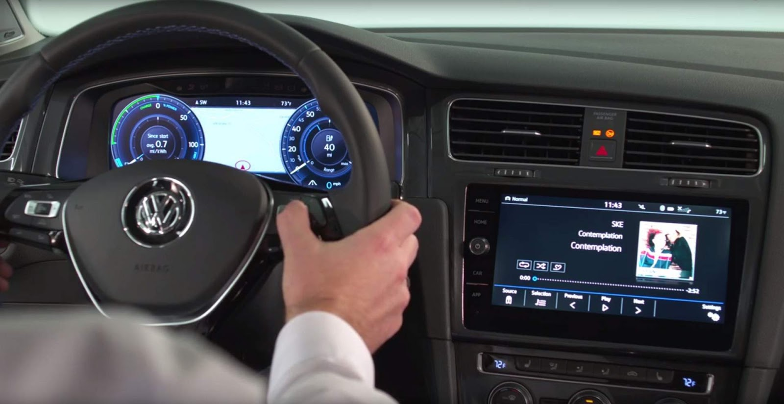 Novo VW Golf 2017 - interior