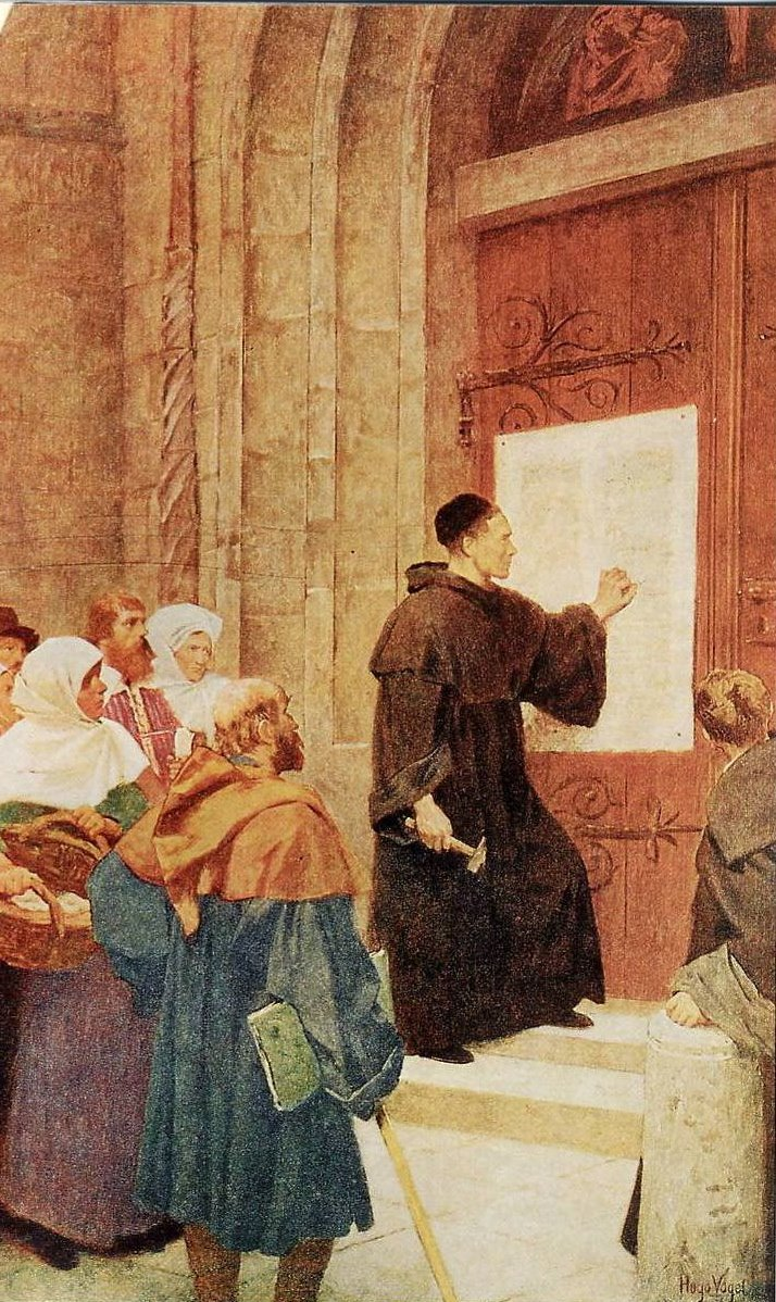 luther and 95 thesis Explanation of the ninety-five theses lw 31:79-252 introduction luther's detailed explanations of the ninety-five theses is one of the most important documents written during.