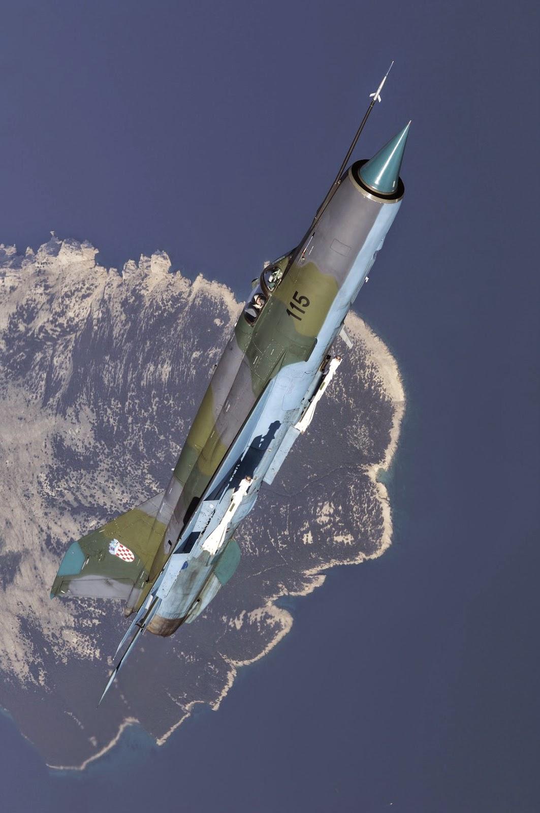 Croatian MIG-21