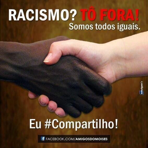 NOSSA ESCOLA LUTA CONTRA O RACISMO.