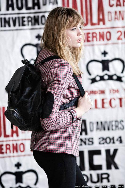 Paula Cahen D'Anvers otoño invierno 2014 sacos de mujer.