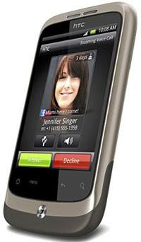 Smartphone Htc Desire A8181 parte frente