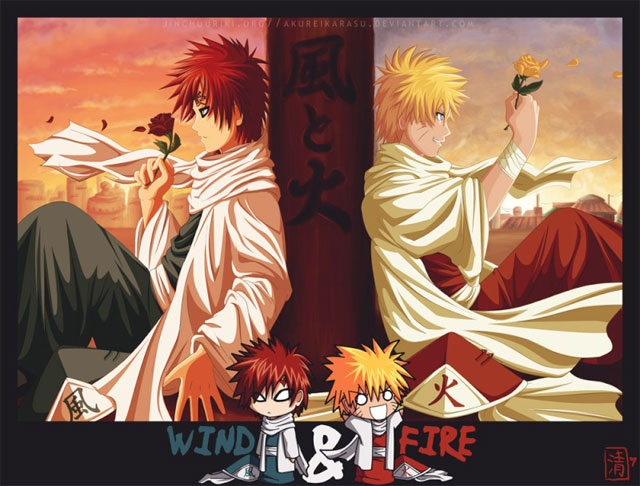 Naruto - Wind and Fire