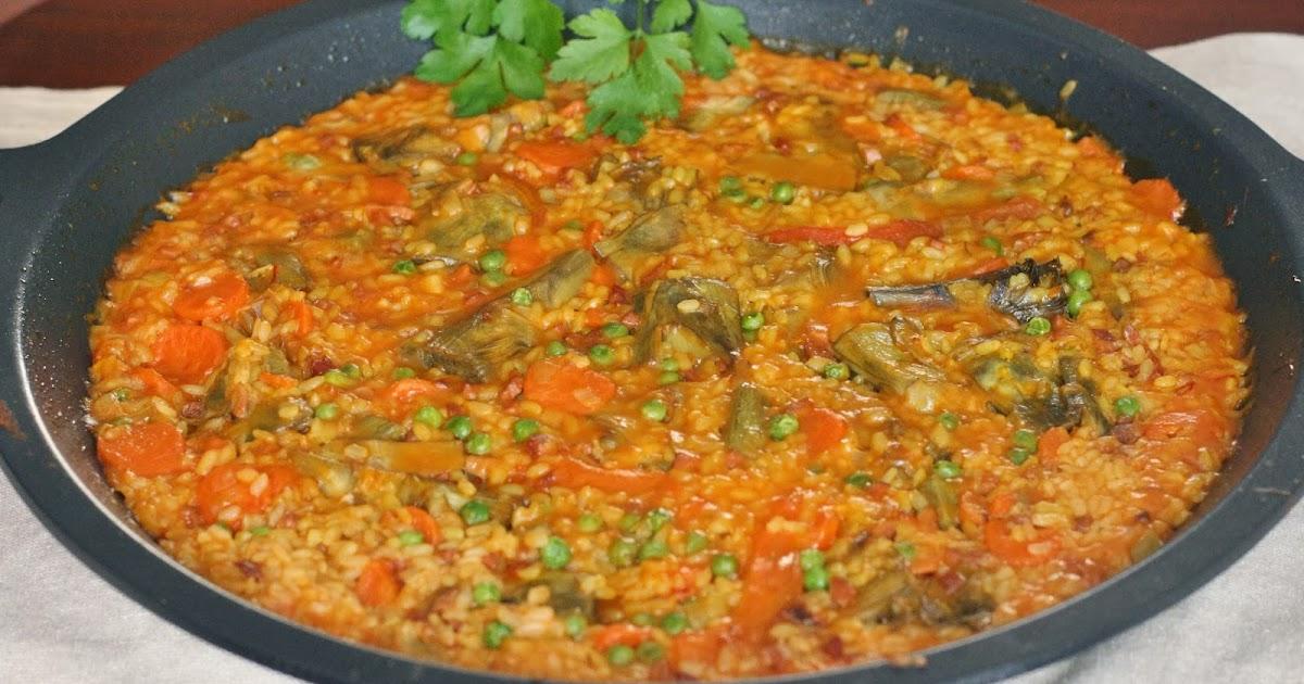 Aprendiendo a cocinar arroz con alcachofas y jam n for Cocinar 6 tipos de arroz