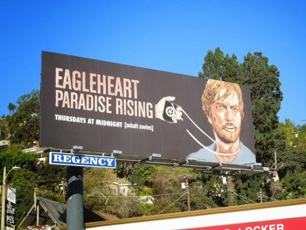 Eagleheart Paradise Rising season 3 billboard