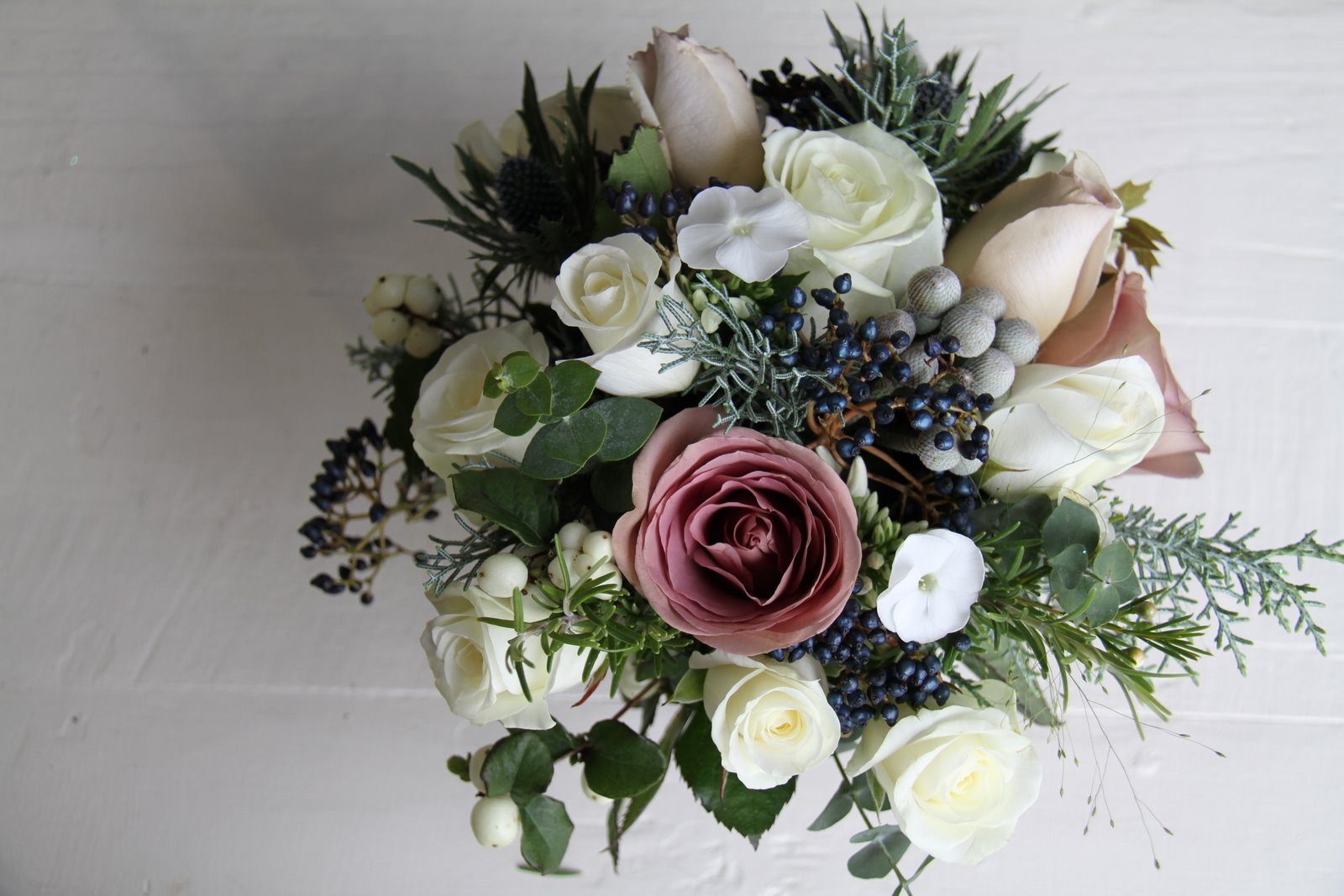 the flower magician winter hedgerow gathered wedding bouquet. Black Bedroom Furniture Sets. Home Design Ideas