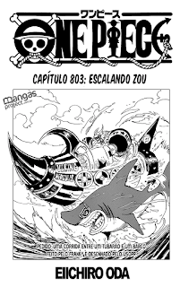 One Piece 803 Mangá Português leitura online