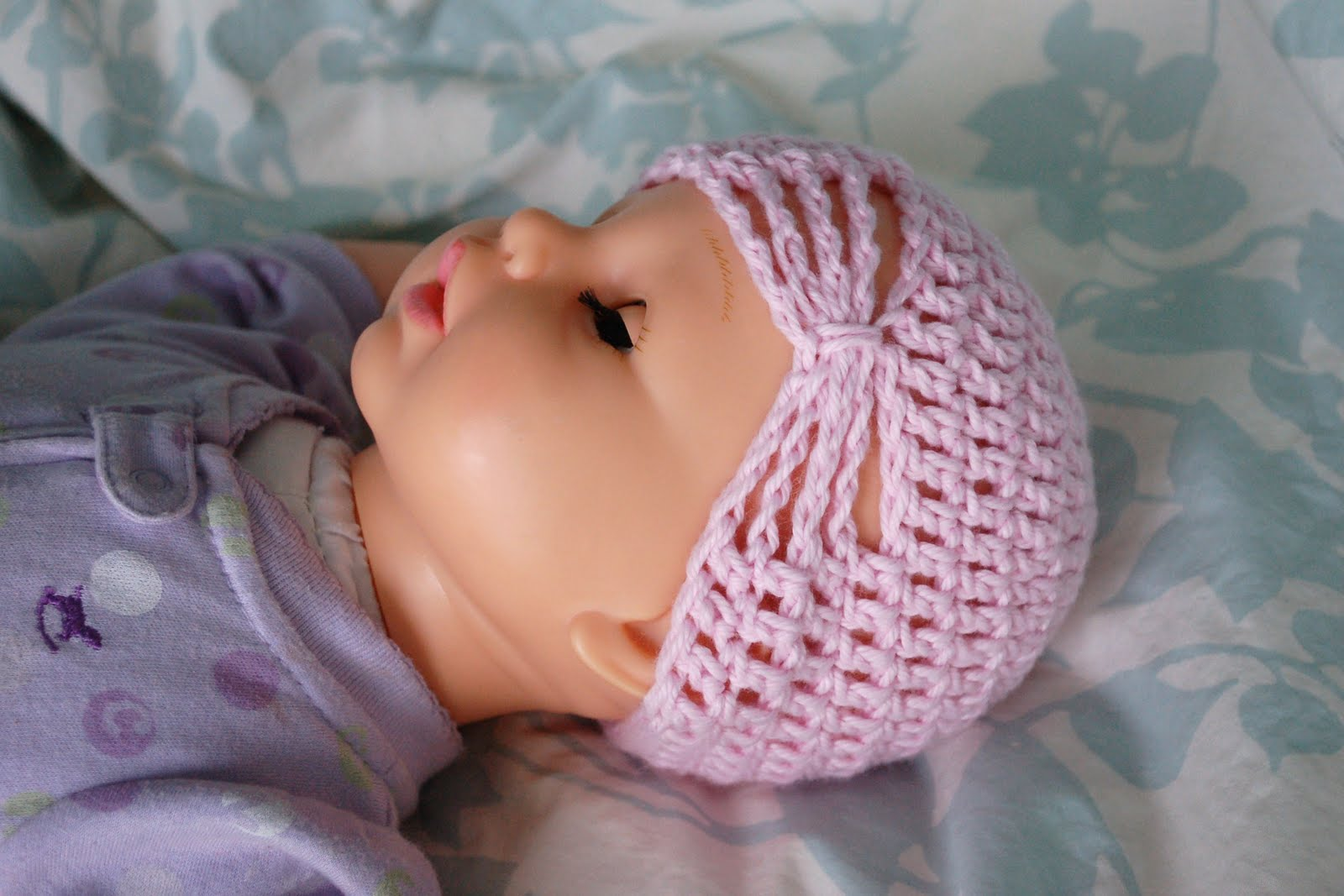 alli crafts free pattern butterfly hat newborn