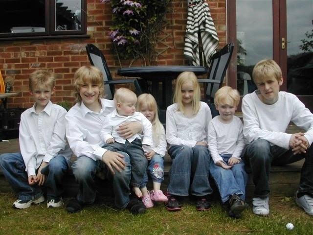 madmumof7's 7 children taken 5 years ago