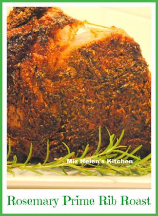 Rosemary Prime Rib Roast