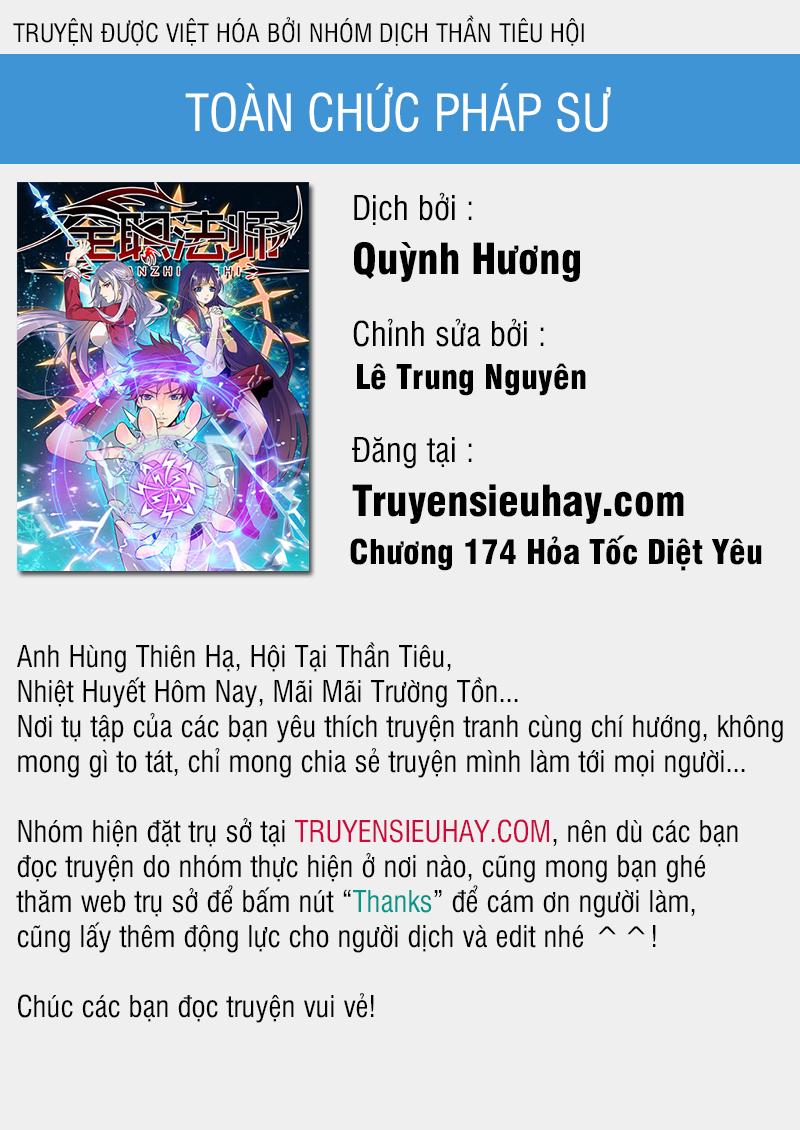 Toàn Chức Pháp Sư Chapter 174 video - Hamtruyen.vn