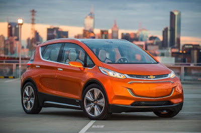 2017 Chevy Bolt Sighting