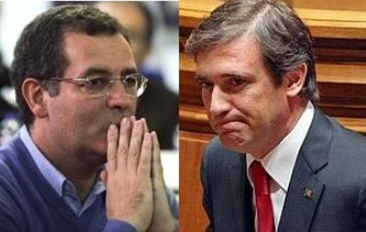 Portugal: PASSOS RECEBE SEGURO SEXTA-FEIRA
