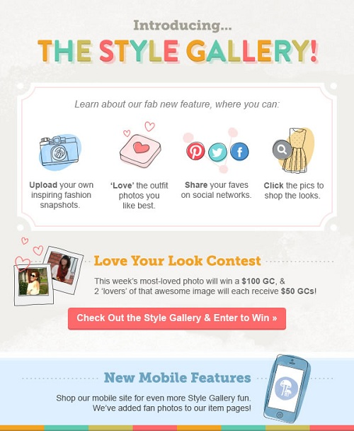 Modcloth Style contest
