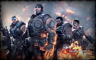 #18 Gears of War Wallpaper