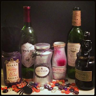 Halloween Decorations, skeleton, diy