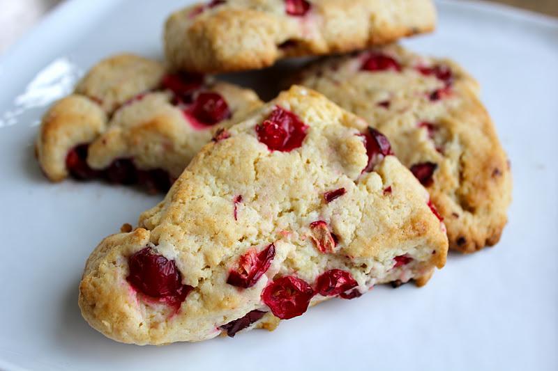 beurrista: cranberry ginger scones