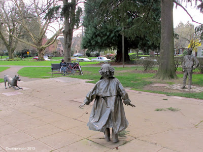 The Beverly Cleary Sculpture Garden