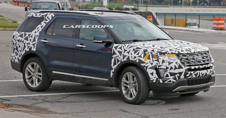 Luxury Ford Confirms 2016 Explorer Facelift For LA Auto Show
