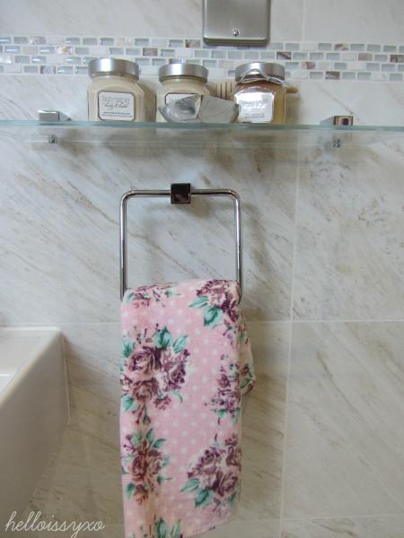 Floral Primark towel