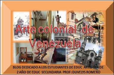 Arte Colonial en Venezuela