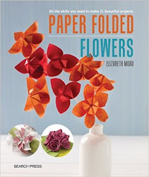 Paper Folded Flowers by Elizabeth Moad