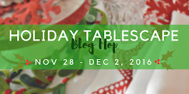 A Holiday Tablescape Blog Hop
