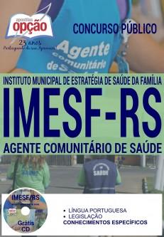 Apostila Concurso IMESF RS 2016 (ATUALIZADA)