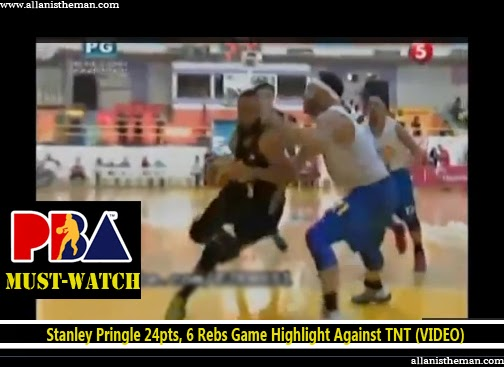 Stanley Pringle 24pts, 6 Rebs Game Highlight Against Talk 'N Text (VIDEO)