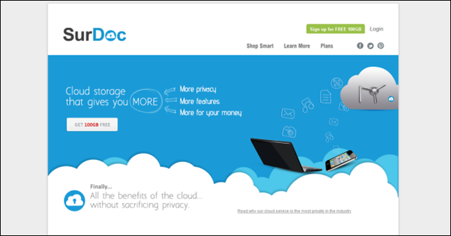 Surdoc Cloud Backup Offers 100gb Of Free Storage With Focus On Privacy