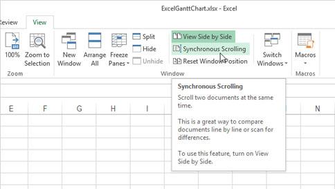Cách mở nhiều Table cạnh nhau trong Excel 2013 3