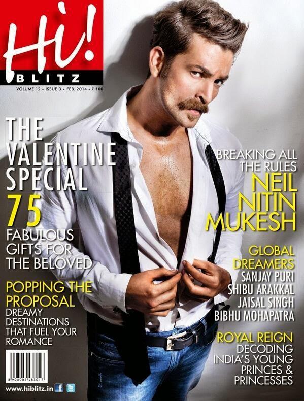 Actor Neil Nitin Mukesh covers Hi! Blitz