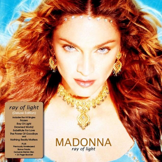 madonna ray of light album cover - photo #15