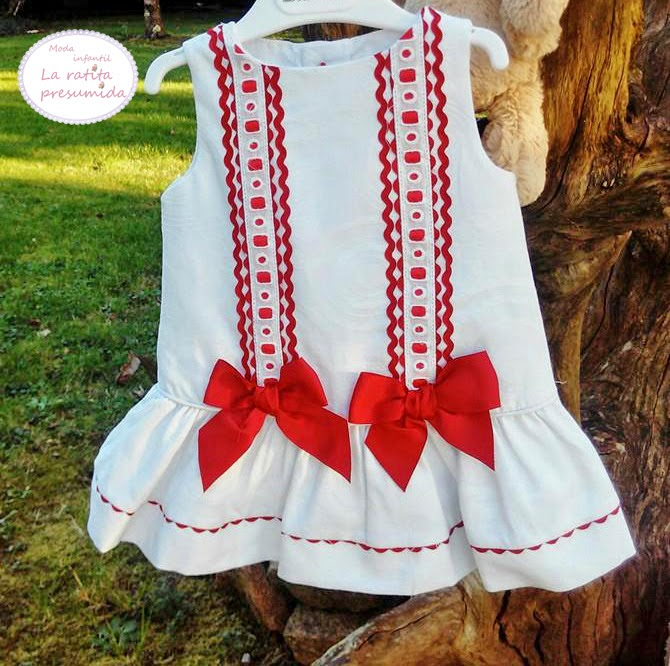 Vestido bebe dolce petit ,coleccion primavera verano 2015