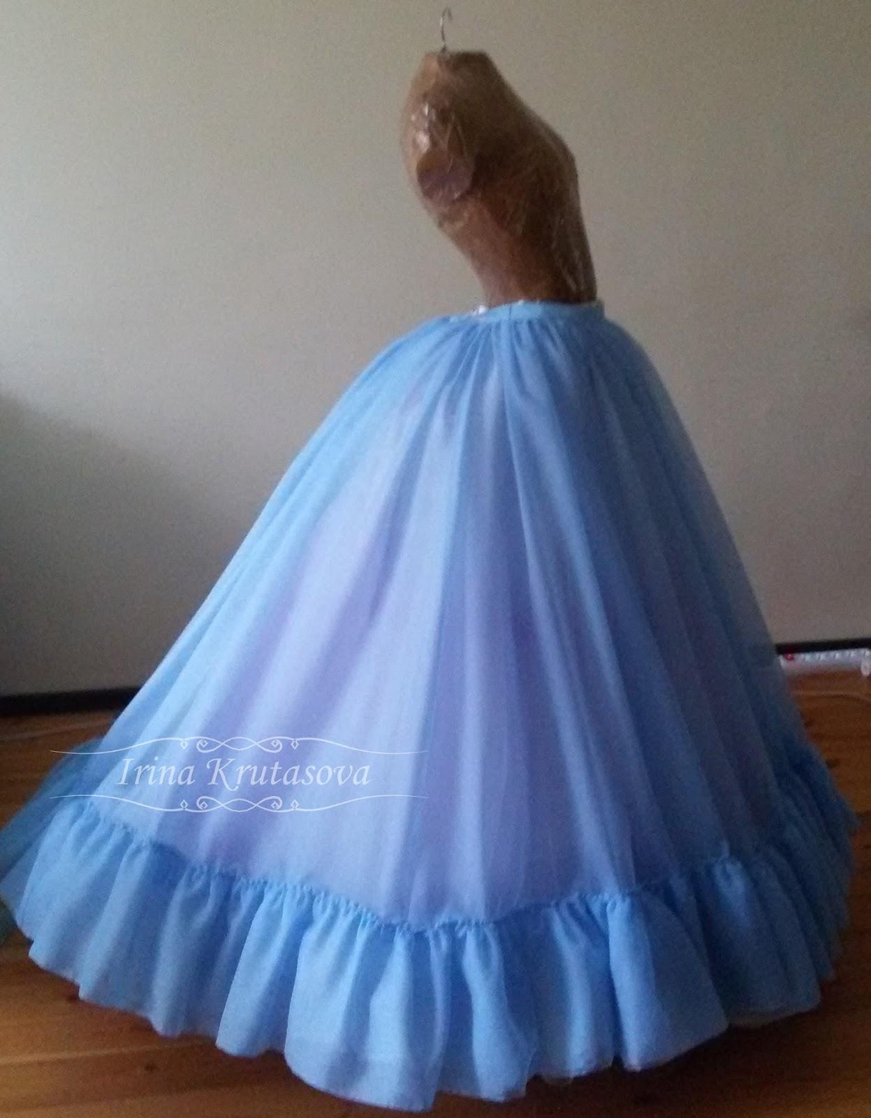 Платье золушки сшить на ребенка фото