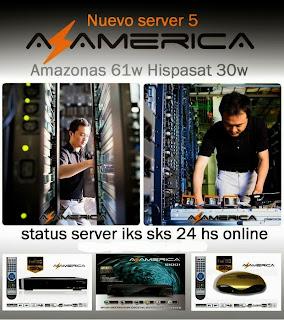 AZAMÉRICA ANUNCIA FIM DO SKS PELO SAT DE KEYS 30°W. 15/12/2013. Servidor+azamerica+by+snoop+eletronicos