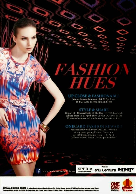 Fashion Hues 2014, Stye & Share OOTD, 1 Utama, fashion, fashionista, shopping mall, ootd