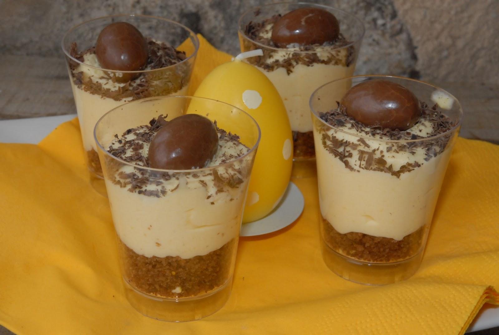 enkle desserter i glass