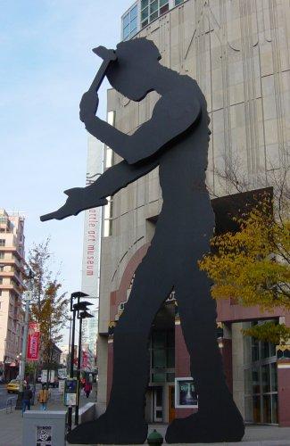 Hammering Man