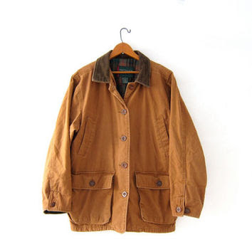 https://wanelo.com/p/20716745/vintage-khaki-barn-coat-denim-chore-jacket-ranch-coat-plaid-lined-jacket