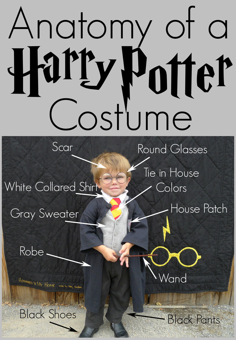 Pieces By Polly DIY Harry Potter Costume Hogwarts