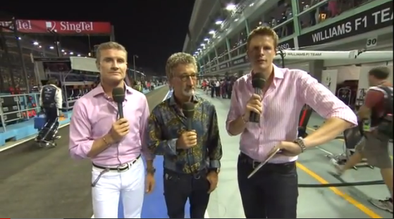 Pilotos probando F1 2012