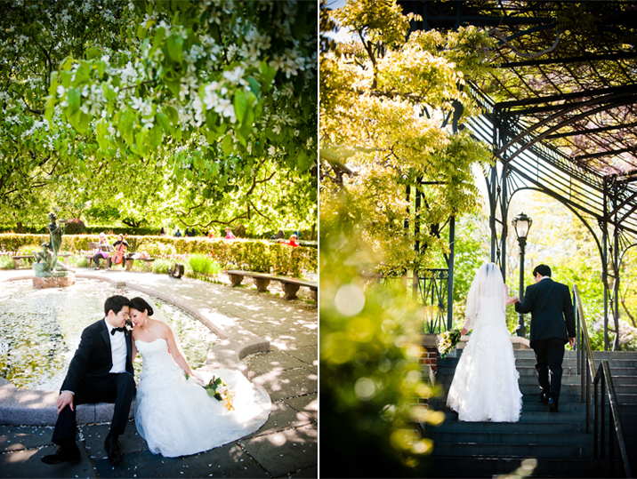 W Studios Ny Photography In New York City Central Park Conservatory Garden Wedding Stephanie