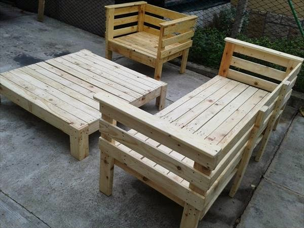 Not buying anything simple pallet furniture for Pallet furniture blogspot com