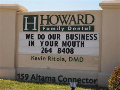 Funny Dentist Sign Fail