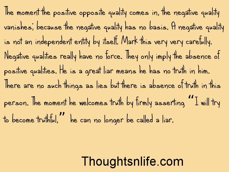 Thoughtsnlife.com: I will try to become truthful