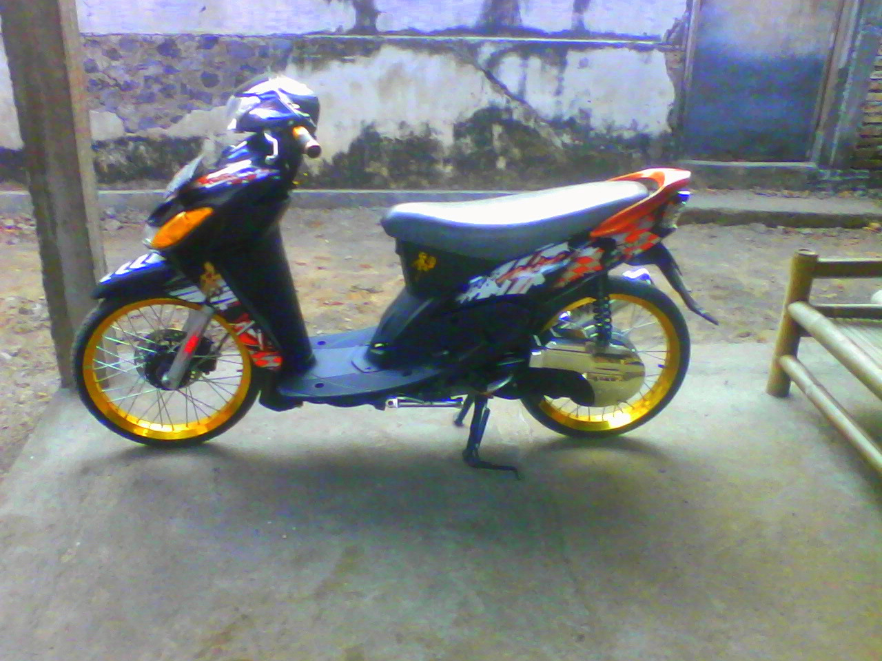 ide modifikasi mio ring 17